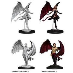 Dungeons & Dragons: Nolzur's Marvelous Unpainted Miniatures: Succubus & Incubus