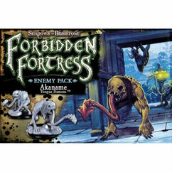 Shadows of Brimstone: Forbidden Forest - Akaname Tongue Demons Enemy Pack