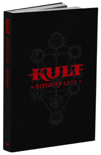Kult: Divinity Lost RPG 4th Edition - Core Rules (Black Edition)