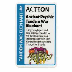 Adventure Time Fluxx: Ancient Psychic Tandem War Elephant Promo Card