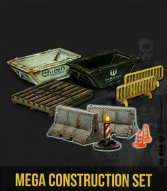 Batman Miniature Game: Construction Set I & II