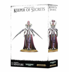 Warhammer Age of Sigmar: Daemons of Slaanesh - Keeper of Secrets