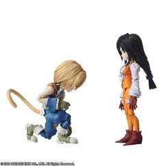 Bring Arts: Final Fantasy IX - Zidane Tribal & Garnet Til Alexandros 17th Figure Set