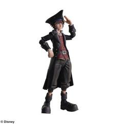 Bring Arts: Kingdom Hearts III - Sora (Pirates of the Caribbean Version) Figure