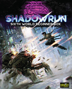 Shadowrun 6E: Sixth World Beginner Box