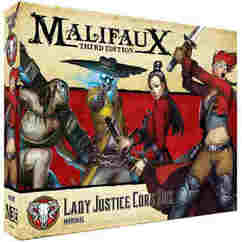 Malifaux 3E: Lady Justice Core Box