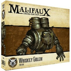 Malifaux 3E: Whiskey Golem