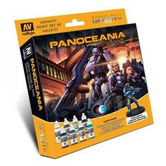 Infinity: Panoceania - Paint Set w/ Exclusive Miniature