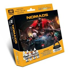 Infinity: Nomads - Paint Set w/ Exclusive Miniature
