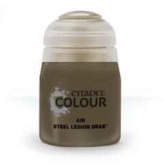 Citadel Colour Air Paint: Steel Legion Drab (24ml)
