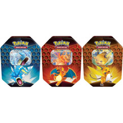 Pokemon: GX Hidden Fates Tin Bundle (Set of 3)