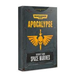 Warhammer 40K: Apocalypse - Space Marines Datasheet Cards