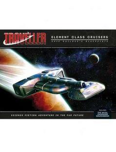 Traveller RPG: Elemental Class Cruisers - Shipbuilders Blueprints (PREORDER)