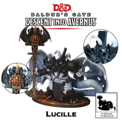 Dungeons & Dragons Miniatures: Collector's Series - Lucille - Pit Fiend