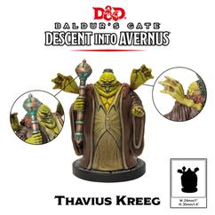 Dungeons & Dragons Miniatures: Collector's Series - Thavius Kreeg