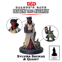 Dungeons & Dragons Miniatures: Collector's Series - Sylvira Savikas & Quasit