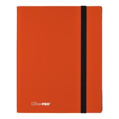 Ultra Pro Binder: Eclipse - Pumpkin Orange (9-Pocket)
