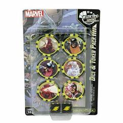Marvel HeroClix: X-Men Xavier's School Dice & Token Pack (Time Displaced)
