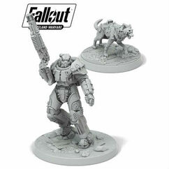 Fallout: Wasteland Warfare - X01 Survivor & Dogmeat