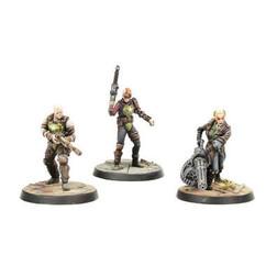 Fallout: Wasteland Warfare - Ack-Ack, Sinjin, & Avery