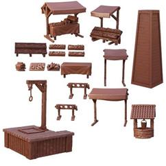 Terrain Crate: Village Square