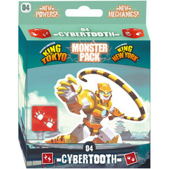 King of Tokyo / King of New York: Cybertooth Monster Pack