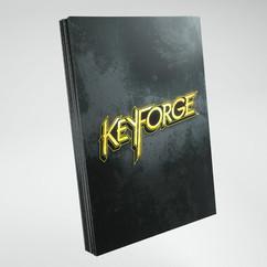 KeyForge: Logo Sleeves - Black (40ct)
