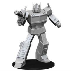 Transformers Deep Cuts Unpainted Miniatures: Optimus Prime