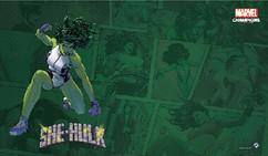 Marvel Champions LCG - She-Hulk Game Mat