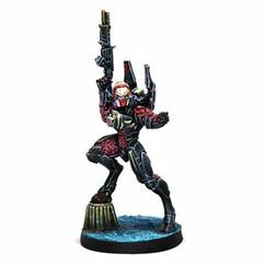Infinity: Combined Army - Shasvastii Cadmus (Hacker)