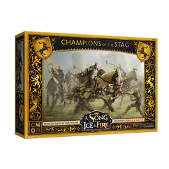 A Song of Ice & Fire Miniatures Game: Baratheon Champions of the Stag Unit Box