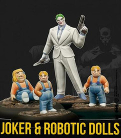 Batman Miniature Game: Joker and Robotic Dolls (Resin)