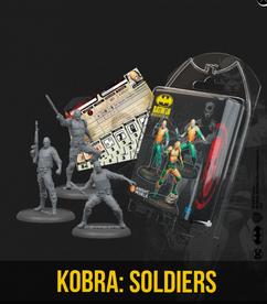 Batman Miniature Game: Kobra Soldiers (Resin)