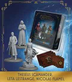 Fantastic Beasts: The Crimes of Grindelwald Miniatures Game: Theseus Scamander, Leta Lestrange, Nicolas Flamel