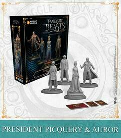 Fantastic Beasts: And Where to Find Them Miniatures Game - President Picquery & Aurors