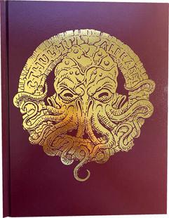 The Cthulhu Alphabet (Bronze Foil Hardcover)