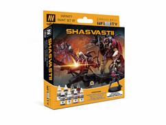 Infinity: Shasvastii - Paint Set w/ Exclusive Miniature