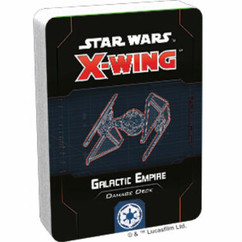 Star Wars X-Wing 2nd Edition: Galactic Empire Damage Deck