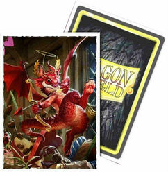 Dragon Shield: 2020 Valentine Dragon - Art, Matte Card Sleeves (100ct)