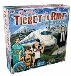 Ticket To Ride: Japan & Italy Map Collection 7