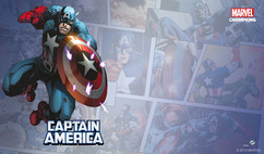 Marvel Champions LCG: Captain America Game Mat