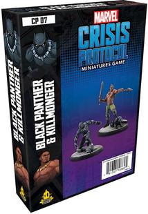 Marvel: Crisis Protocol - Black Panther & Killmonger Character Pack