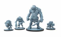 Godtear: Halftusk, Warden of the Stonekin Isle & Froglodytes