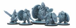 Godtear: Rhodri Ironheart, Thane of the Forsaken Holds & Household Guard