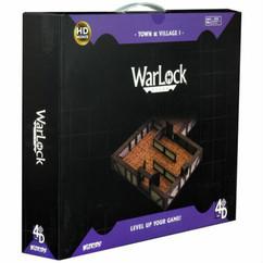 Wizkids Miniatures 4D Settings: WarLock Tiles - Town & Village