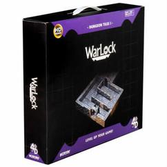 Wizkids Miniatures 4D Settings: WarLock Tiles - Dungeon Tiles I