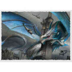 Dragon Shield: Empire State Dragon - Art, Matte Card Sleeves (100ct)