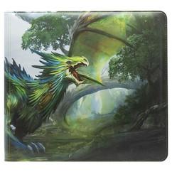 Dragon Shield: Olive Card Codex - XL Zipster Binder