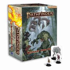 Pathfinder RPG 2nd Edition: Bestiary Pawn Box