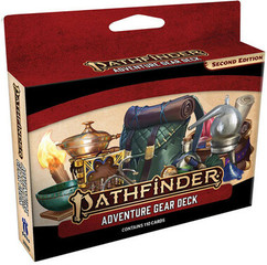 Pathfinder RPG 2nd Edition: Adventure Gear Deck